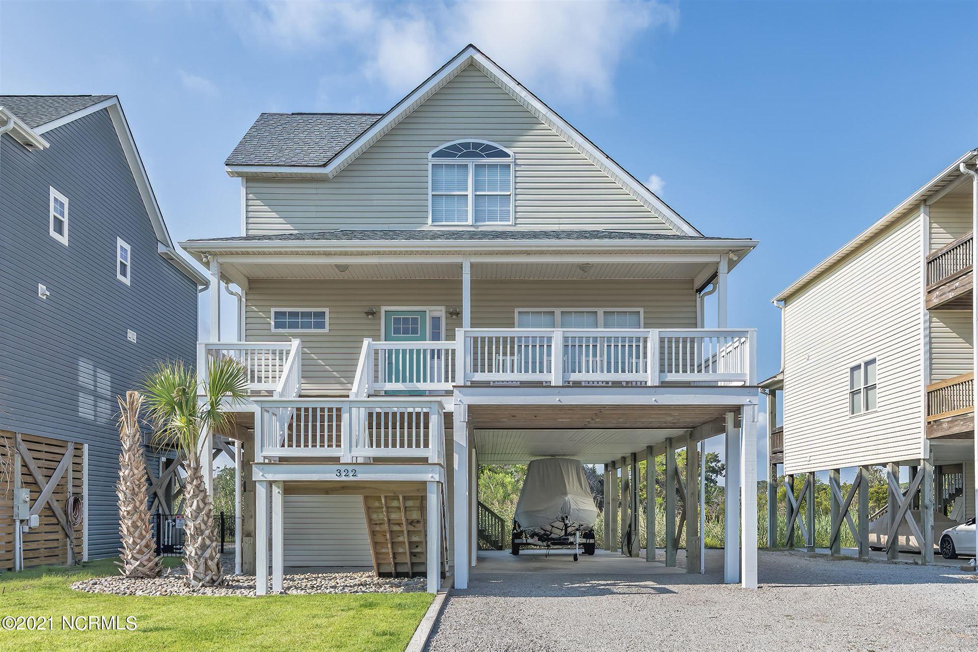 Photo for 322 E Dolphin Drive, Oak Island, NC 28465 (MLS # 100285516)