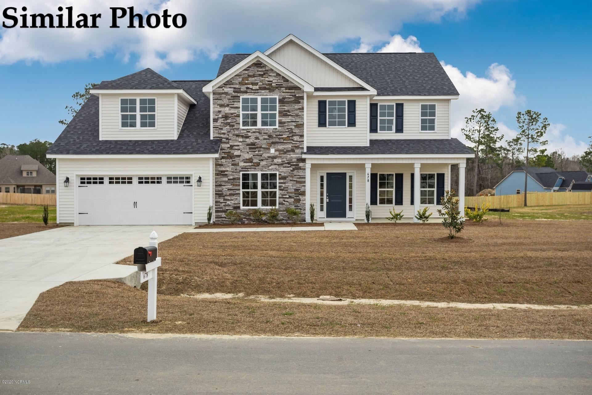 Photo of 527 Misty Pond Drive, Hubert, NC 28539 (MLS # 100292533)