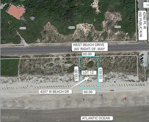 Photo of 4207 W Beach Drive, Oak Island, NC 28465 (MLS # 100210535)