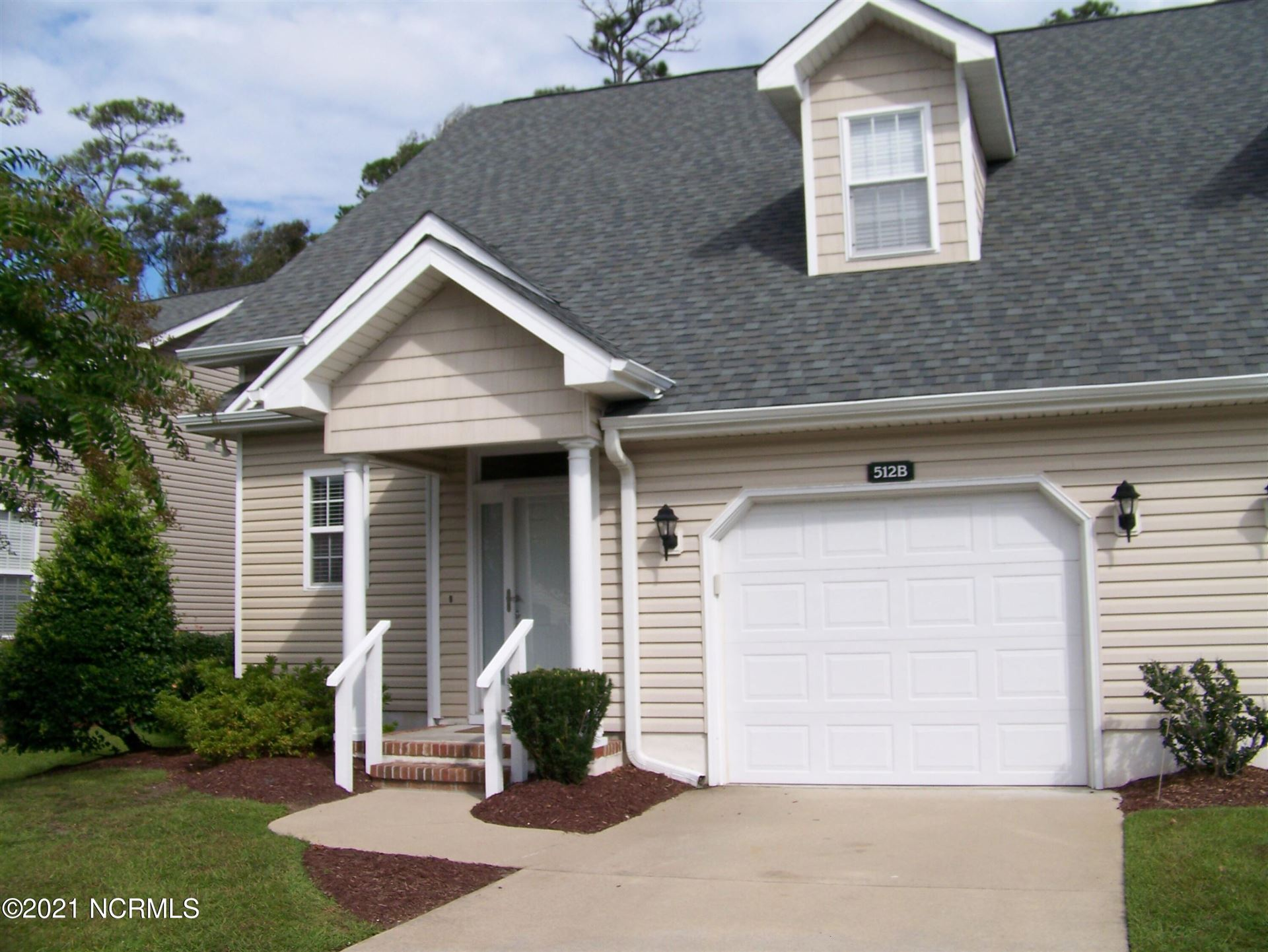 Photo of 512 Village Green Drive #B, Morehead City, NC 28557 (MLS # 100291535)