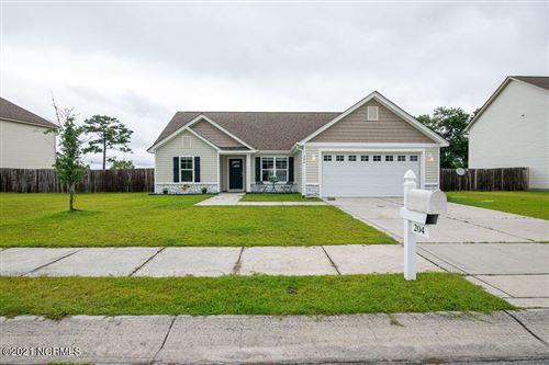 Photo of 204 Hidden Oaks Drive, Jacksonville, NC 28546 (MLS # 100282540)