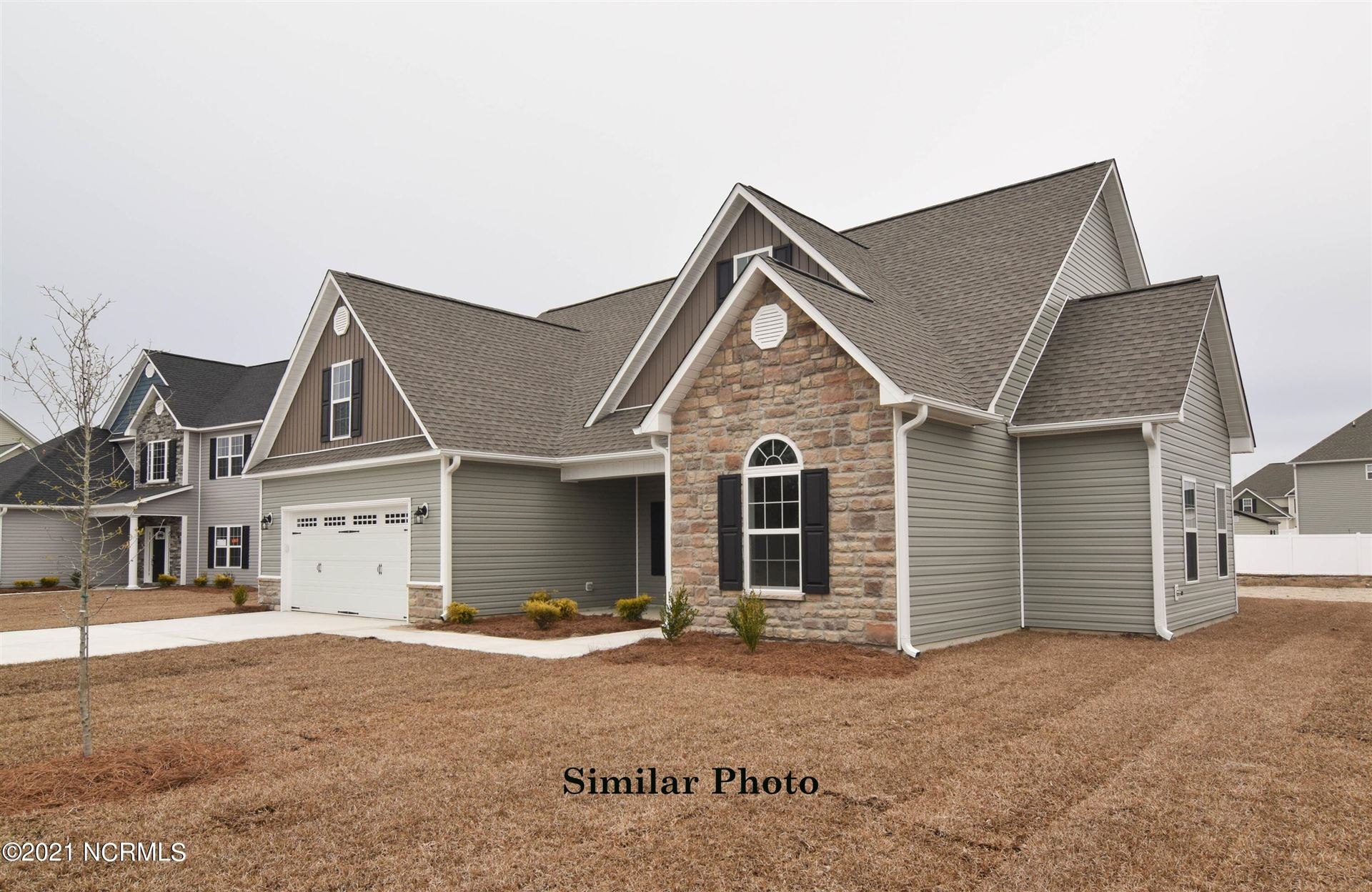 Photo of 140 Evergreen Forest Drive, Sneads Ferry, NC 28460 (MLS # 100291540)