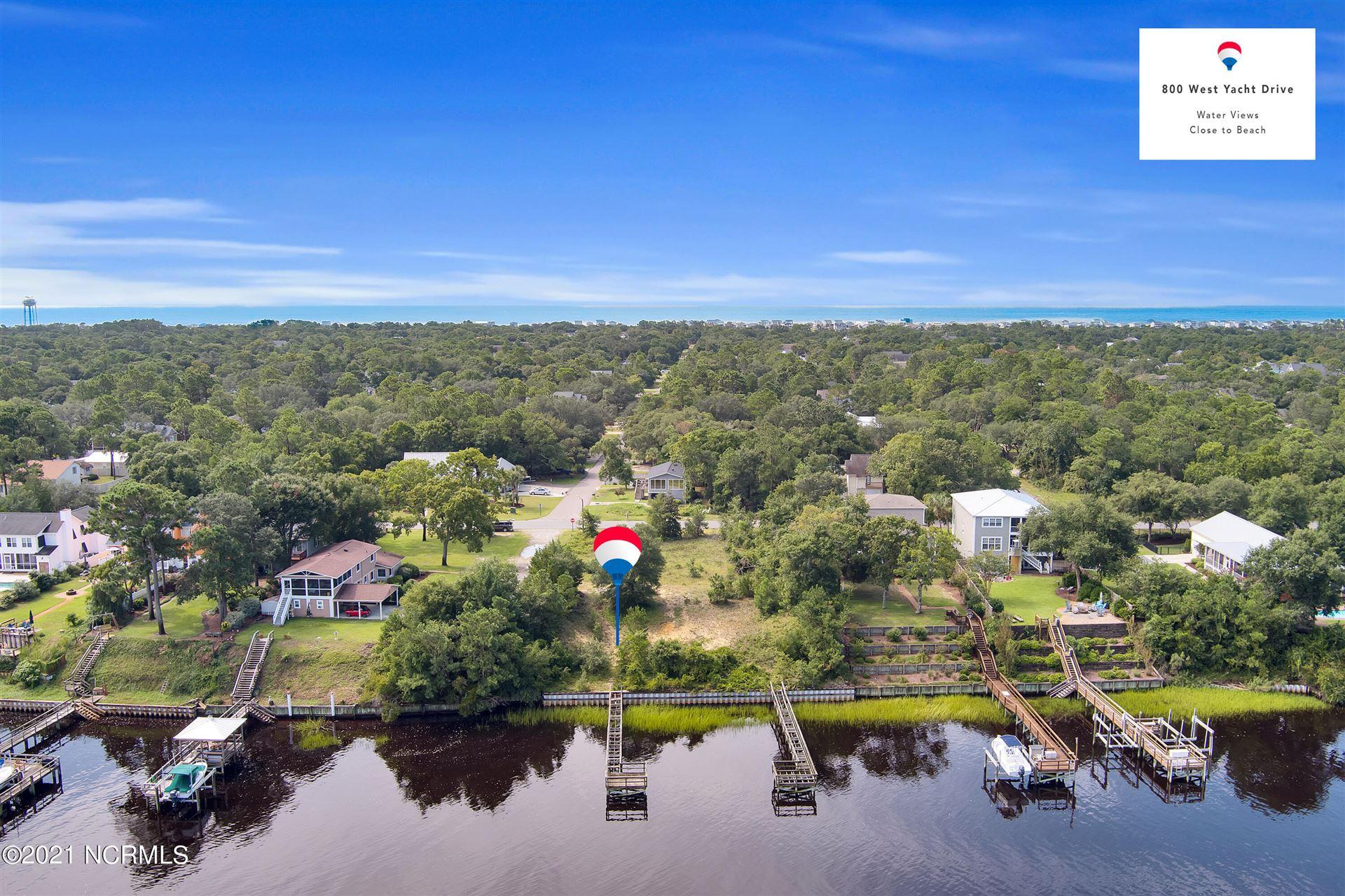 Photo of 800 W Yacht Drive, Oak Island, NC 28465 (MLS # 100289542)