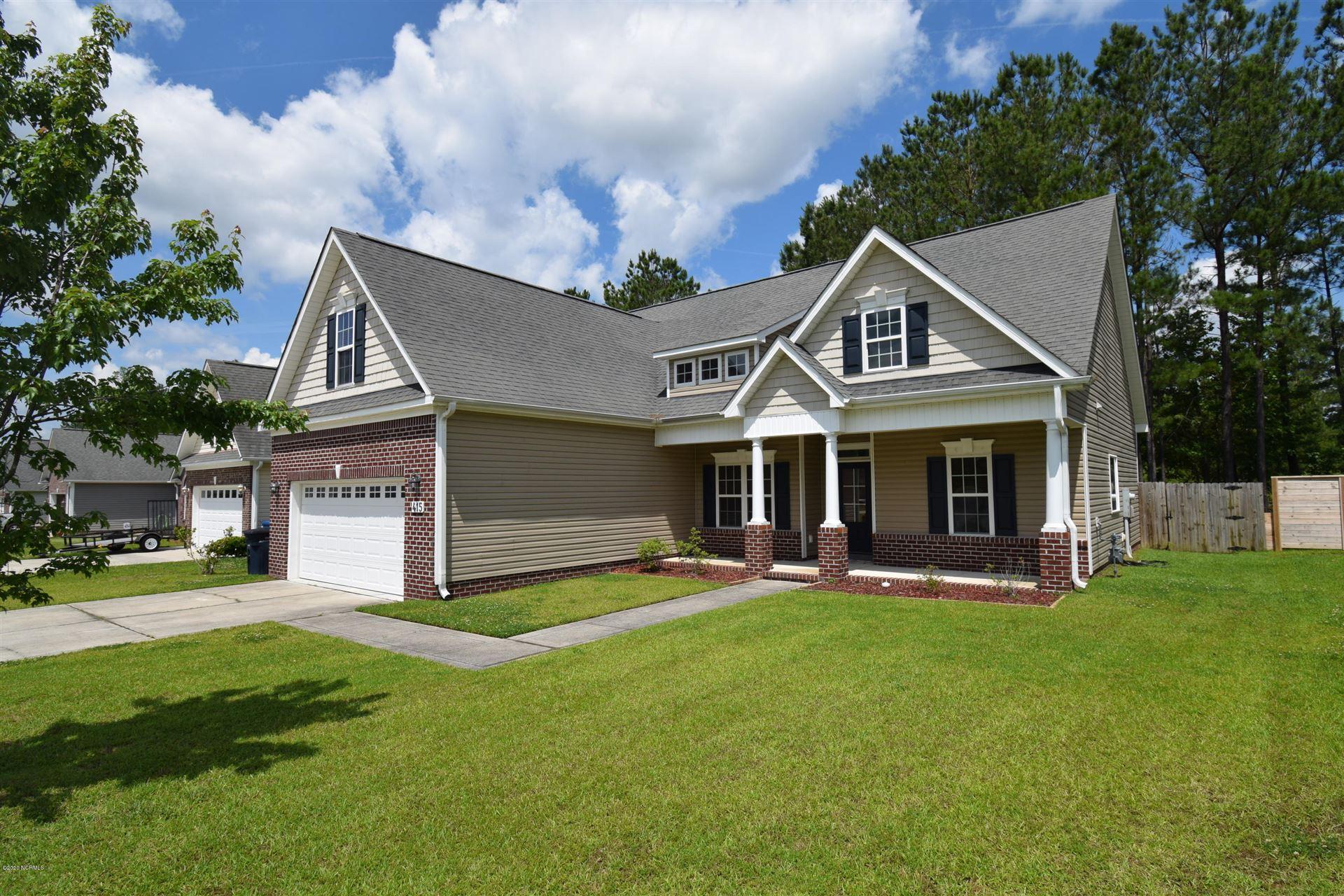 415 Weatherford Drive, Jacksonville, NC 28540 - #: 100214550