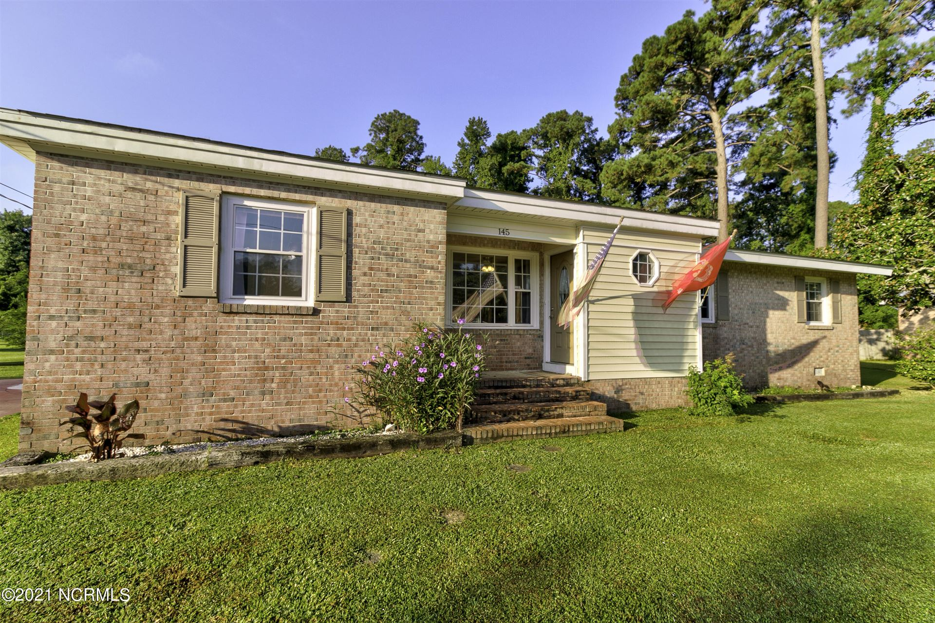 Photo of 145 Woodland Drive, Havelock, NC 28532 (MLS # 100291552)