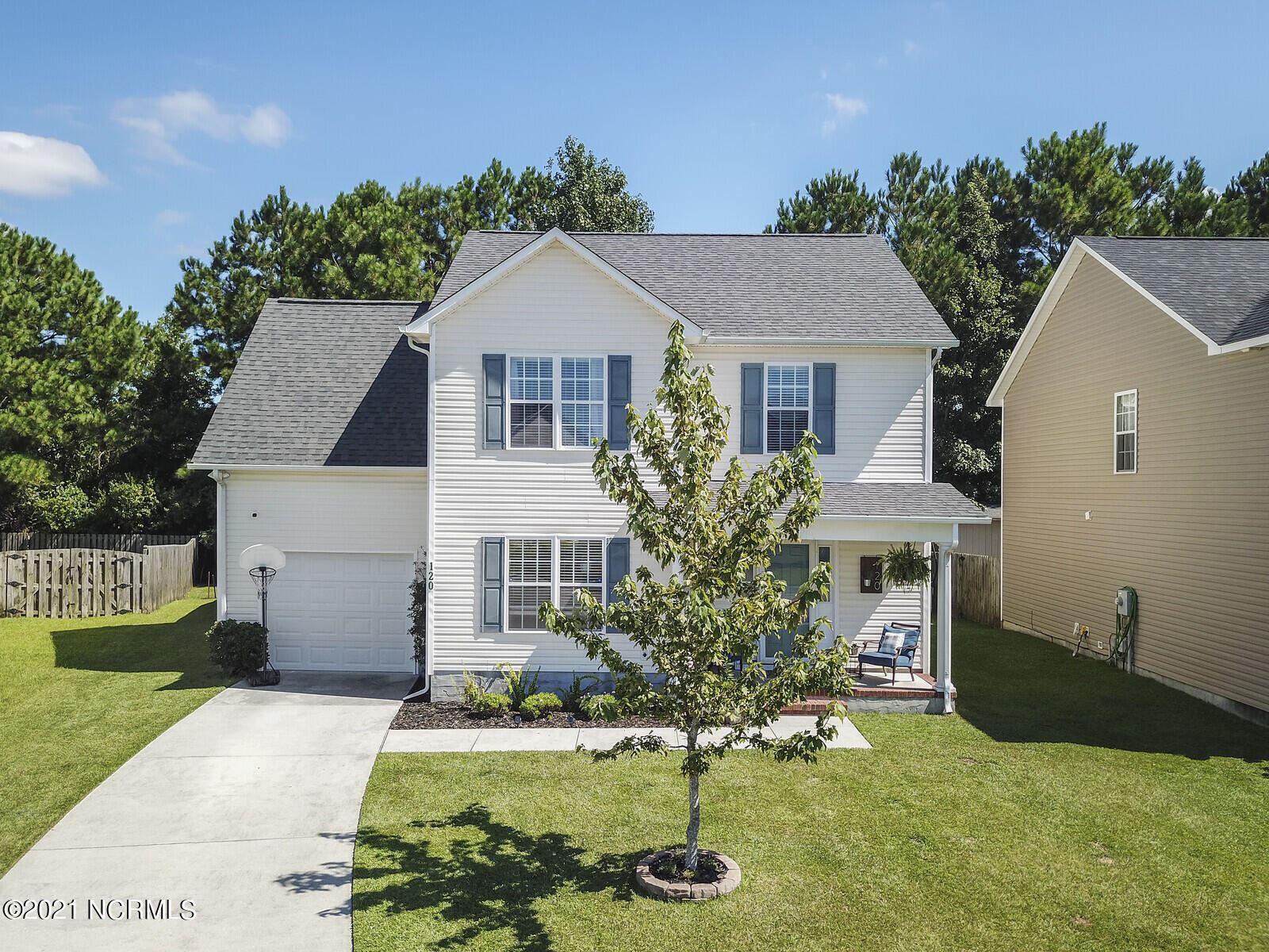 Photo of 120 Durbin Lane, Jacksonville, NC 28546 (MLS # 100292559)