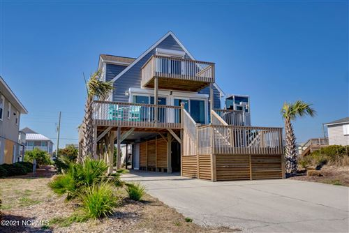 Photo of 1112 Ocean Boulevard, Topsail Beach, NC 28445 (MLS # 100261560)