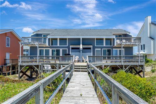 Photo of 1507 Ocean Drive #E & W, Emerald Isle, NC 28594 (MLS # 100243563)