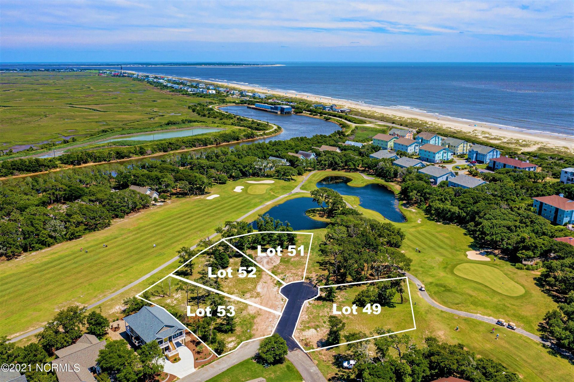 Photo for 53 Ryder Cup Way, Oak Island, NC 28465 (MLS # 100277566)