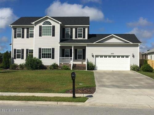 Photo of 303 Baffle Court, Swansboro, NC 28584 (MLS # 100216569)