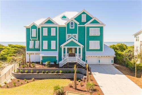 Photo of 7607 Ocean Drive, Emerald Isle, NC 28594 (MLS # 100234571)