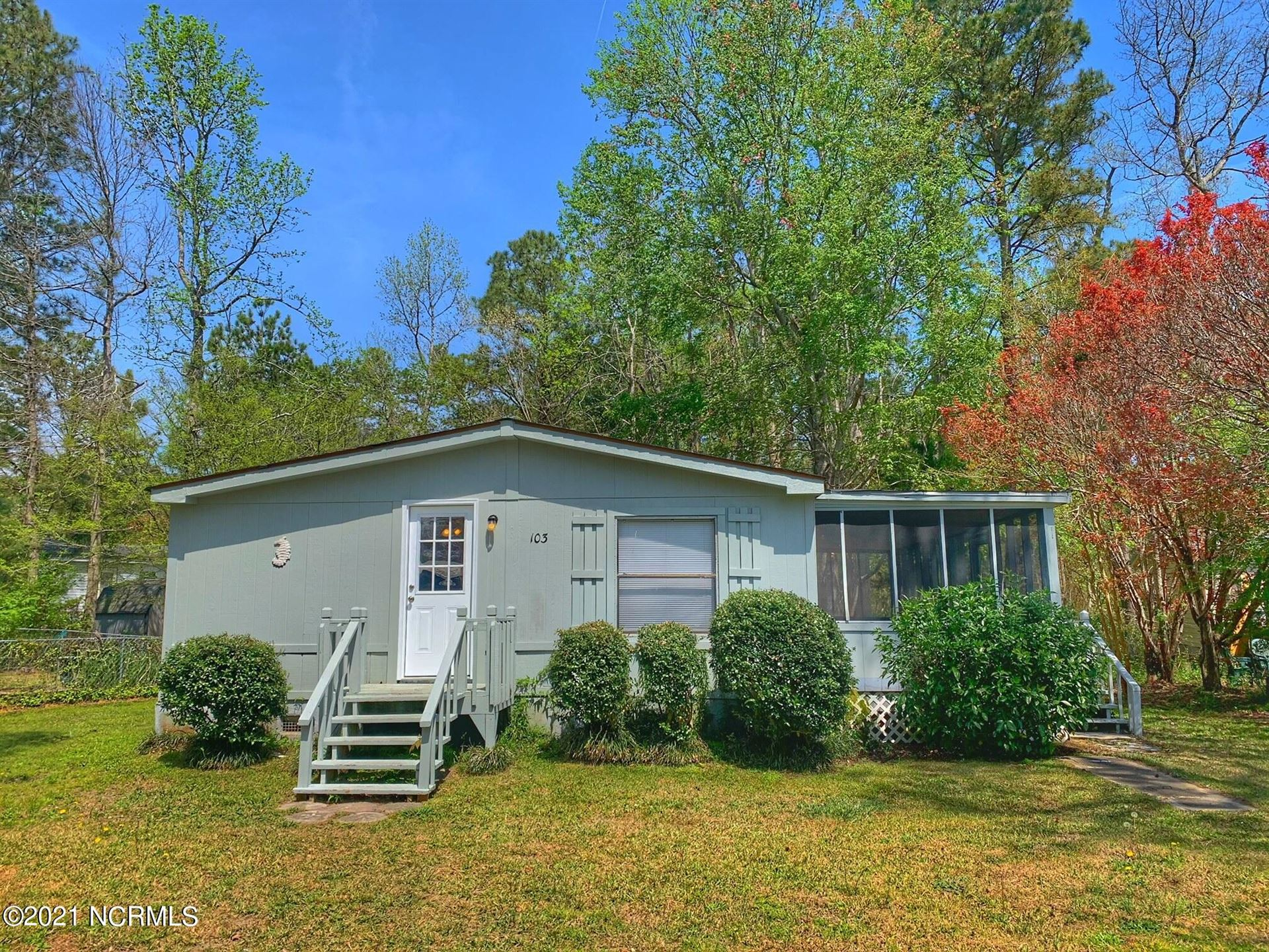 Photo for 103 Myrtle Court, Hampstead, NC 28443 (MLS # 100265574)