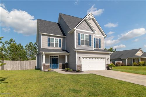 Photo of 408 Savannah Drive, Jacksonville, NC 28546 (MLS # 100220576)