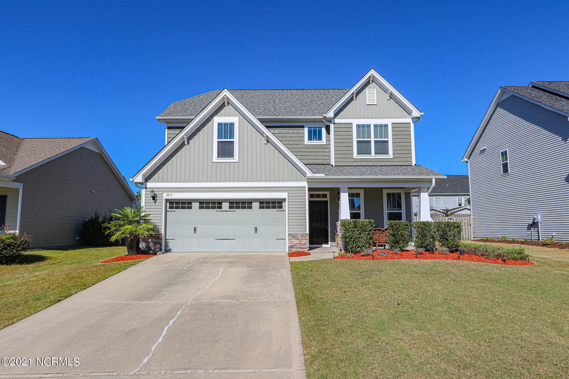 Photo of 209 Willow Ridge Drive, Holly Ridge, NC 28445 (MLS # 100295576)