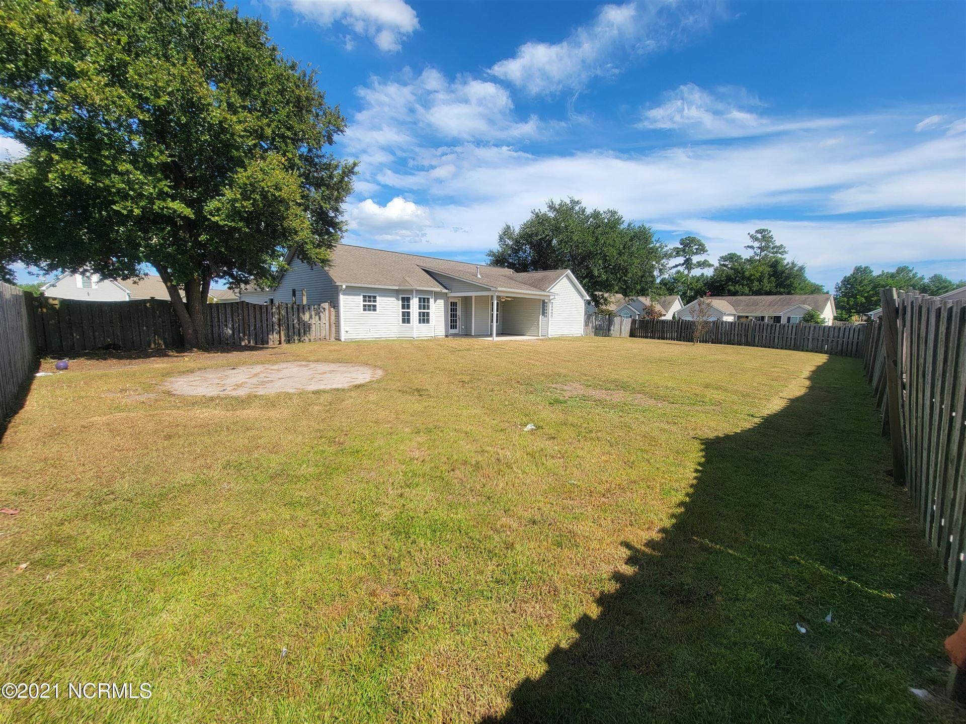 Photo of 401 Amaryllis Lane, Holly Ridge, NC 28445 (MLS # 100290580)