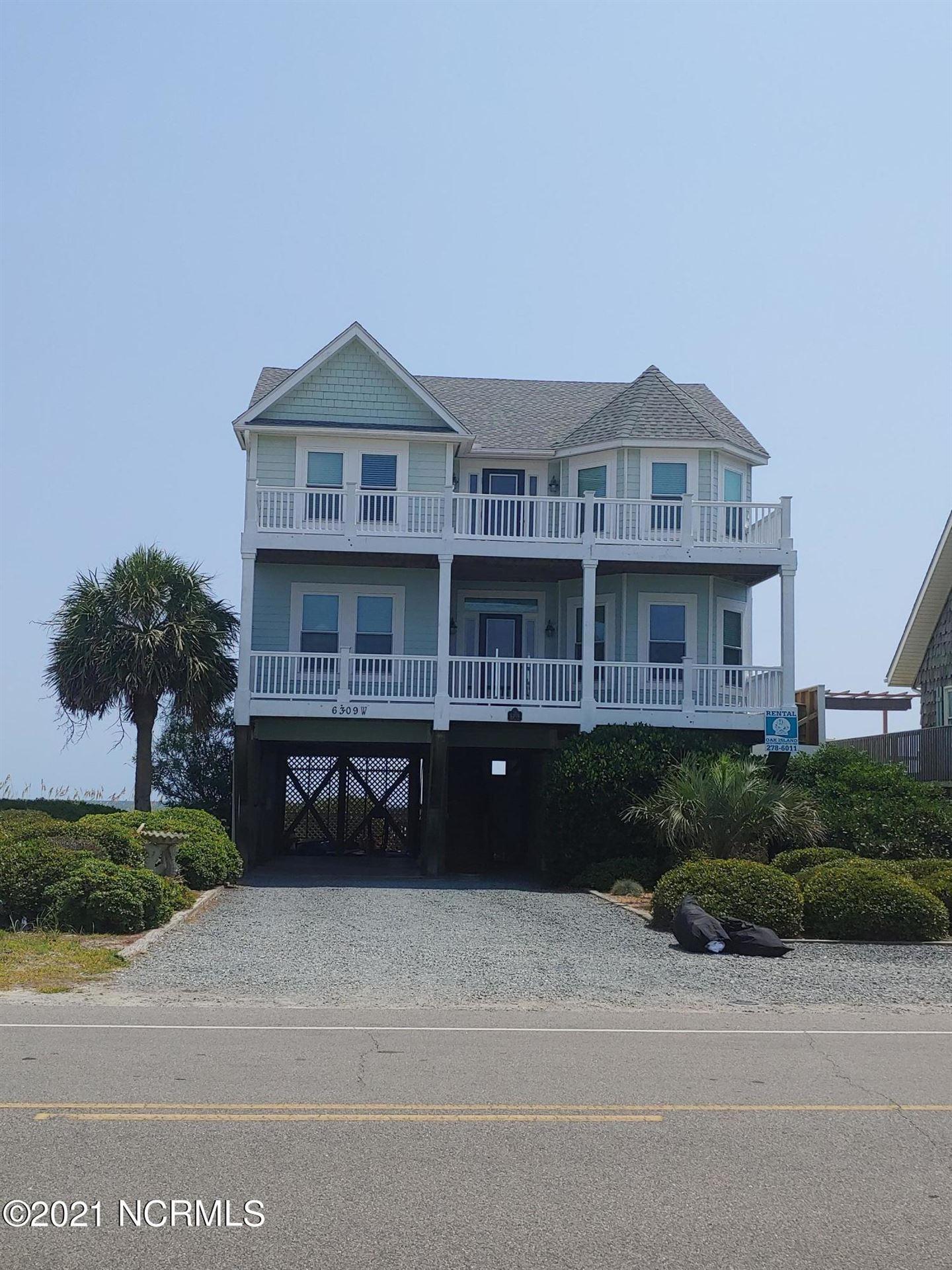 Photo for 6309 W Beach Drive, Oak Island, NC 28465 (MLS # 100284586)