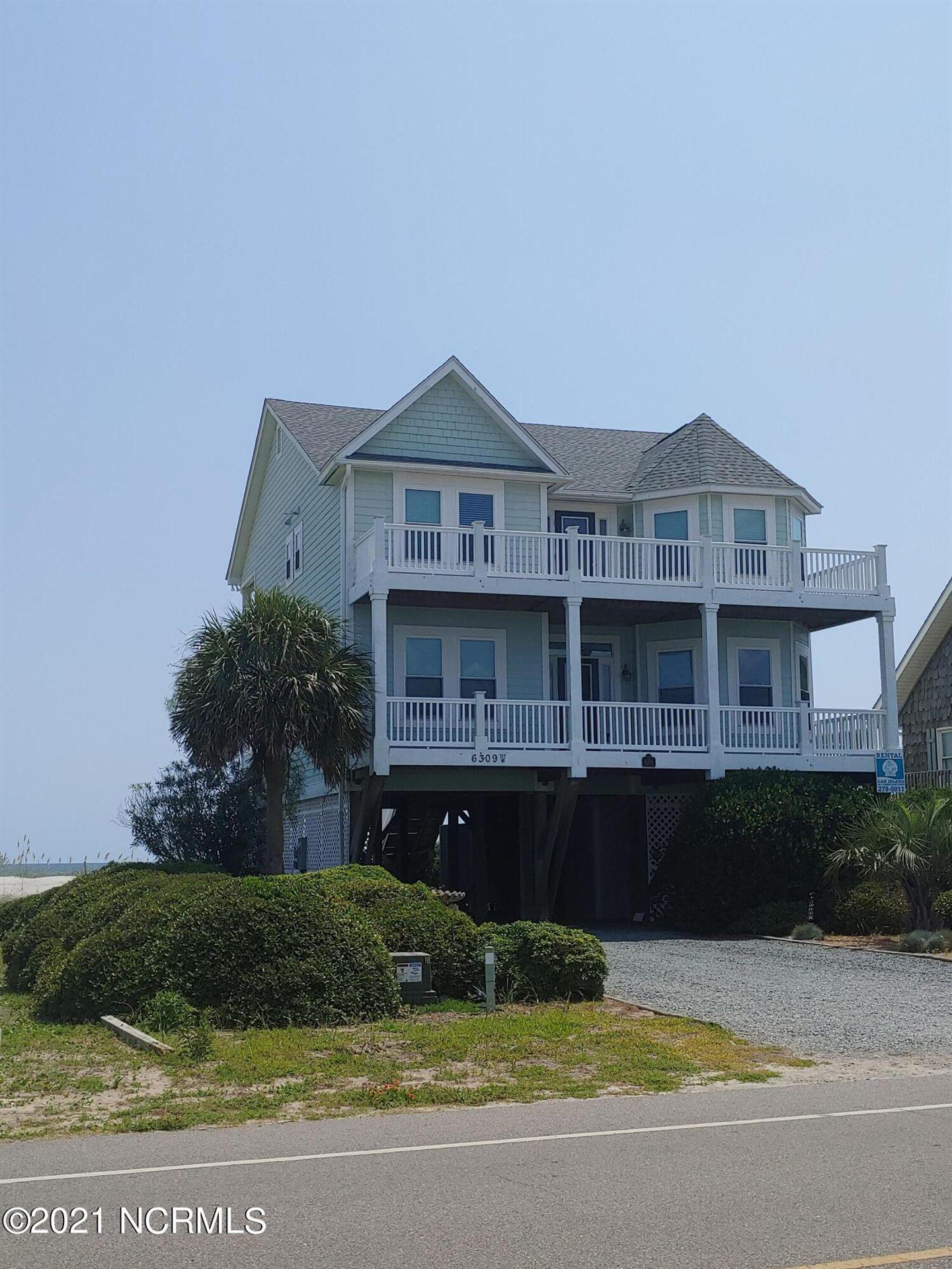 Photo of 6309 W Beach Drive, Oak Island, NC 28465 (MLS # 100284586)