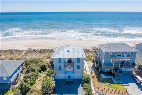 Photo of 713 N Anderson Boulevard, Topsail Beach, NC 28445 (MLS # 100217588)