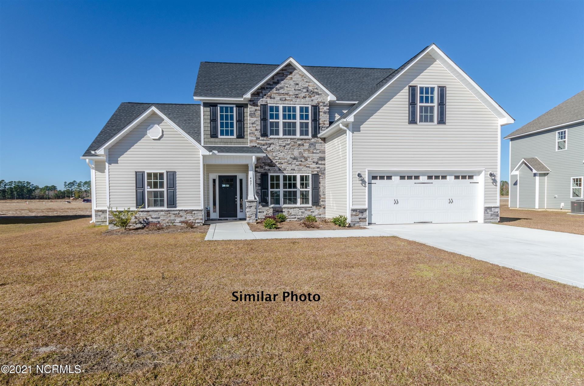 Photo for 334 Naval Store Drive, Jacksonville, NC 28546 (MLS # 100272589)