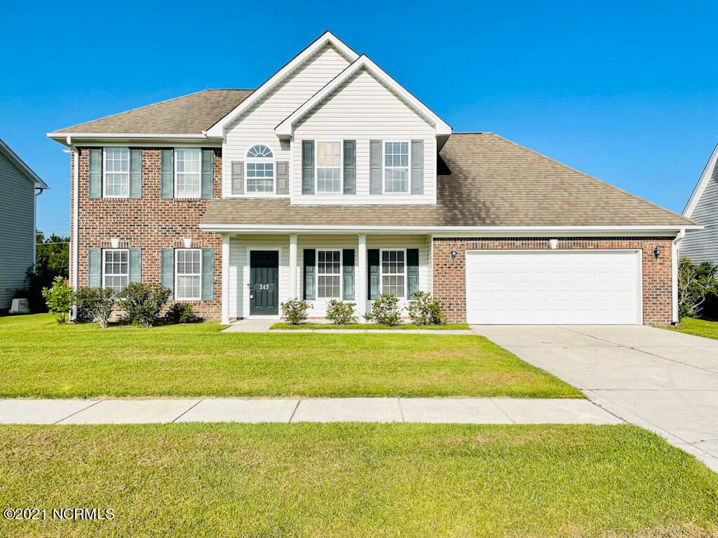 Photo of 243 Silver Hills Drive, Jacksonville, NC 28546 (MLS # 100288589)