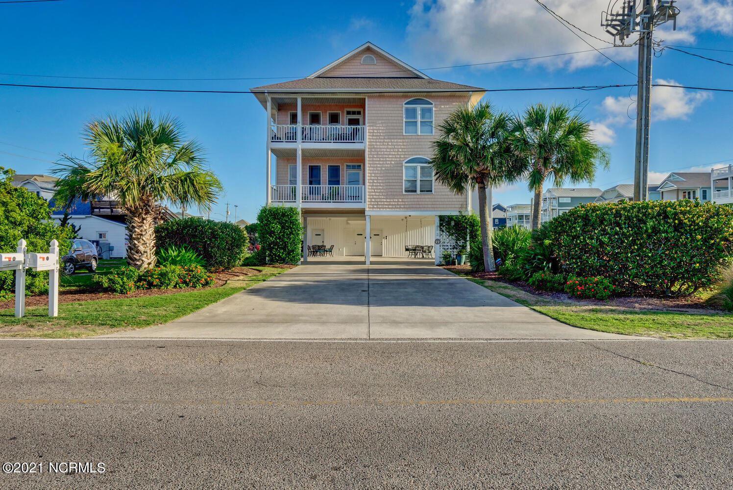 Photo of 105 Ocean Boulevard #2, Carolina Beach, NC 28428 (MLS # 100295589)