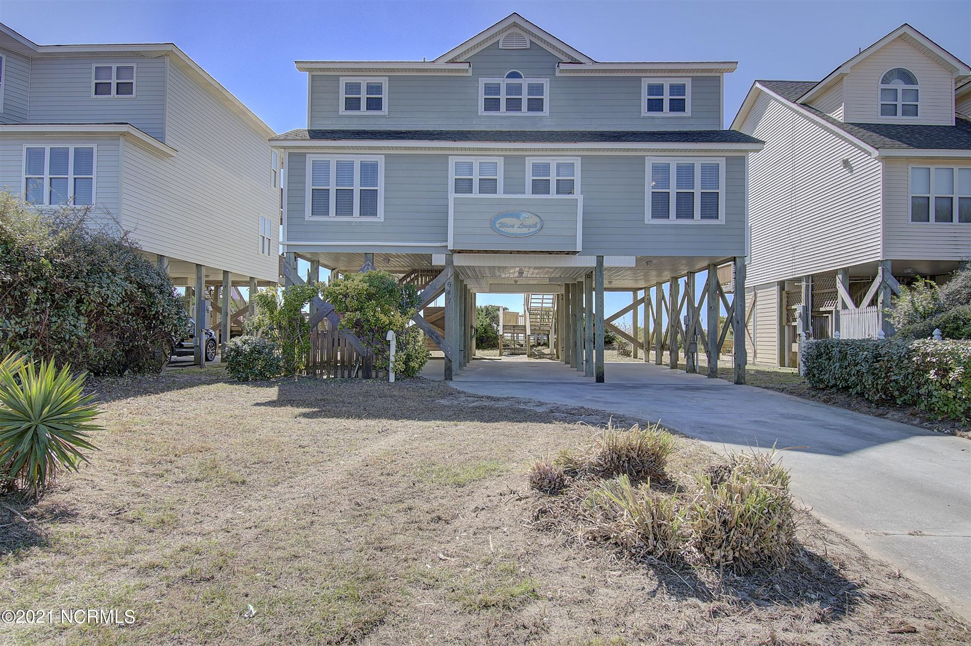 Photo of 647 Ocean Boulevard W, Holden Beach, NC 28462 (MLS # 100295592)