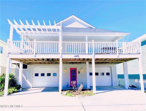 Photo of 461 Fort Fisher Boulevard N, Kure Beach, NC 28449 (MLS # 100258596)