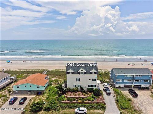 Photo of 1505 Ocean Drive, Emerald Isle, NC 28594 (MLS # 100274597)