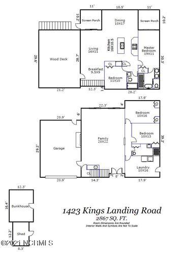 Tiny photo for 1423 Kings Landing Road, Hampstead, NC 28443 (MLS # 100277598)