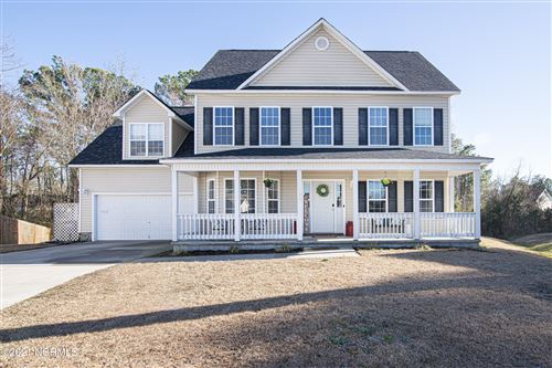 Photo of 128 Whiteleaf Drive, Jacksonville, NC 28546 (MLS # 100257599)