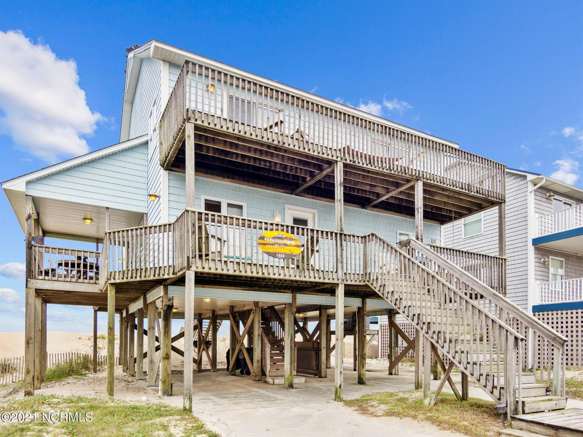 Photo of 1222 New River Inlet Road, North Topsail Beach, NC 28460 (MLS # 100294605)