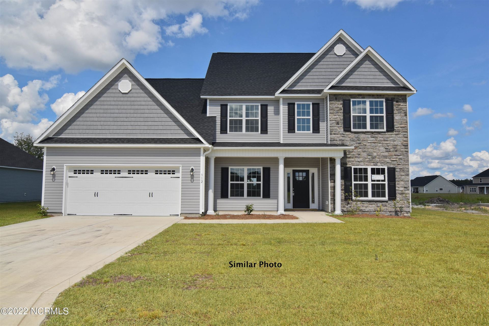 Photo of 414 Water Wagon Trail, Jacksonville, NC 28546 (MLS # 100289625)