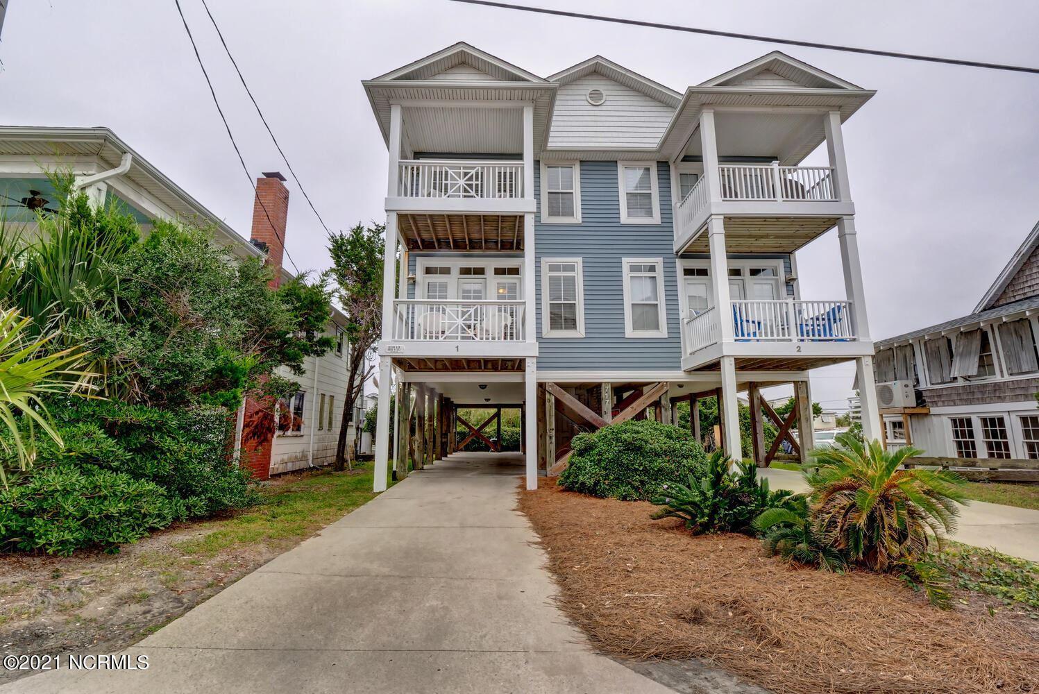 Photo of 717 Carolina Beach Avenue N #1, Carolina Beach, NC 28428 (MLS # 100294626)