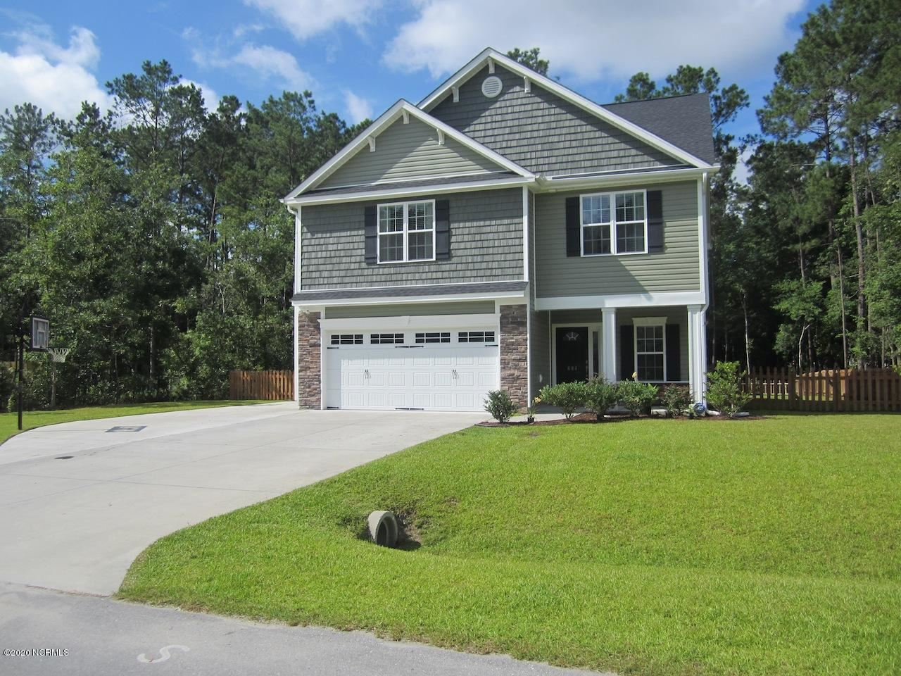 604 Weeping Willow Lane, Jacksonville, NC 28540 - #: 100205635
