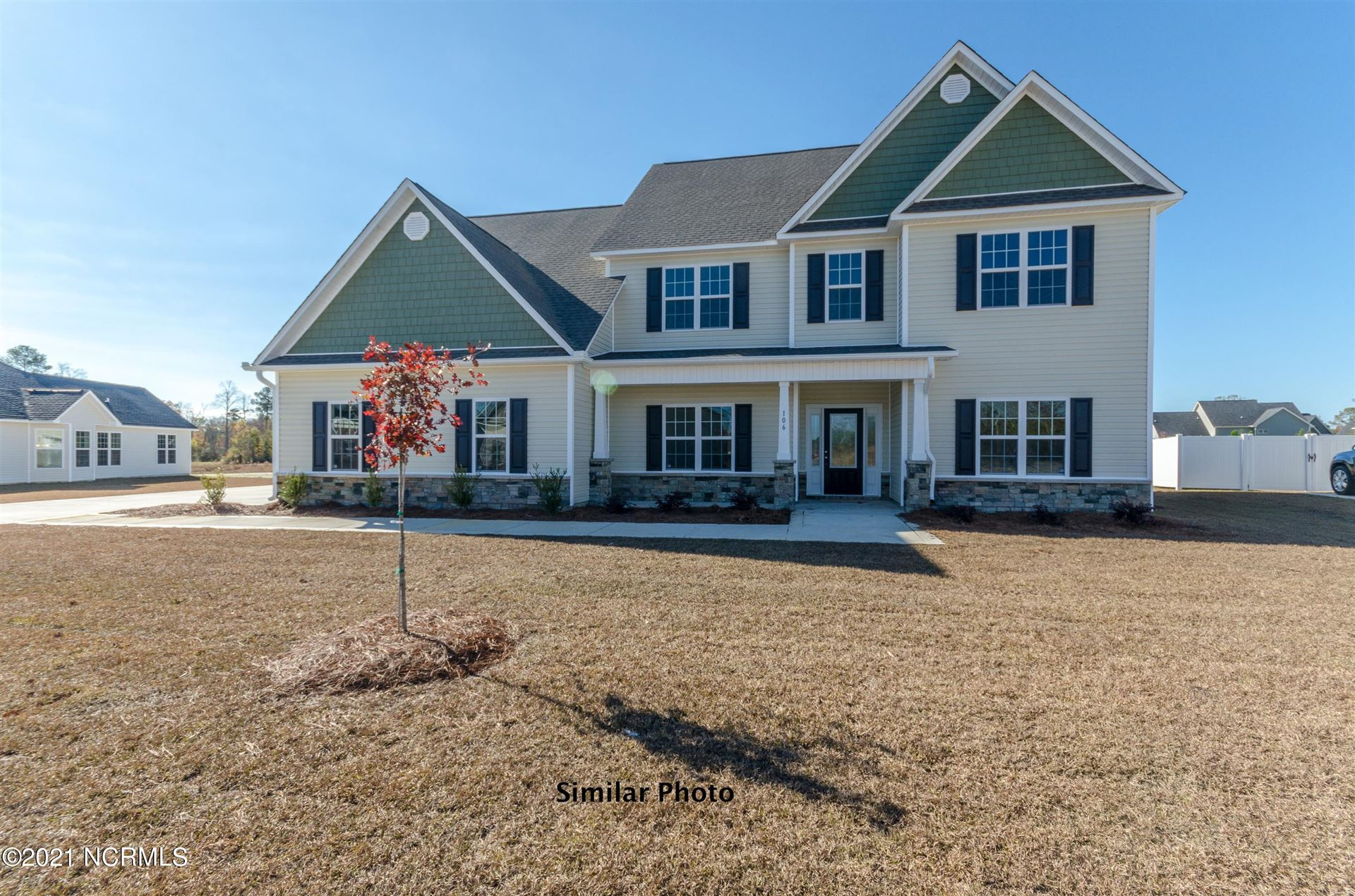 Photo for 315 Naval Store Drive, Jacksonville, NC 28546 (MLS # 100277636)