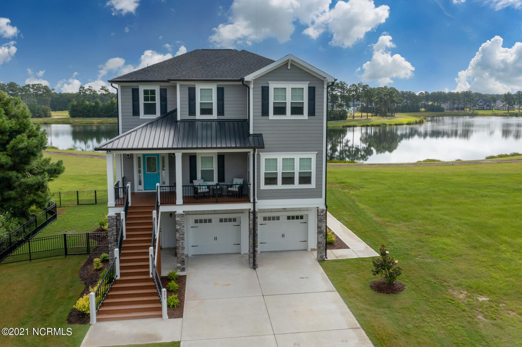 Photo of 355 Summerhouse Drive, Holly Ridge, NC 28445 (MLS # 100289641)