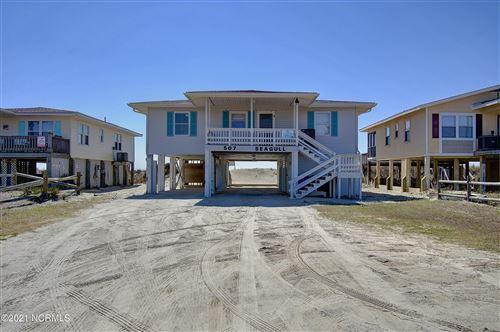 Photo of 507 Ocean Boulevard W, Holden Beach, NC 28462 (MLS # 100259643)