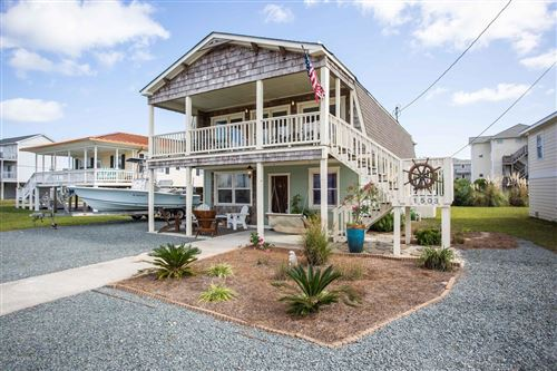Photo of 1503 Carolina Boulevard, Topsail Beach, NC 28445 (MLS # 100241652)