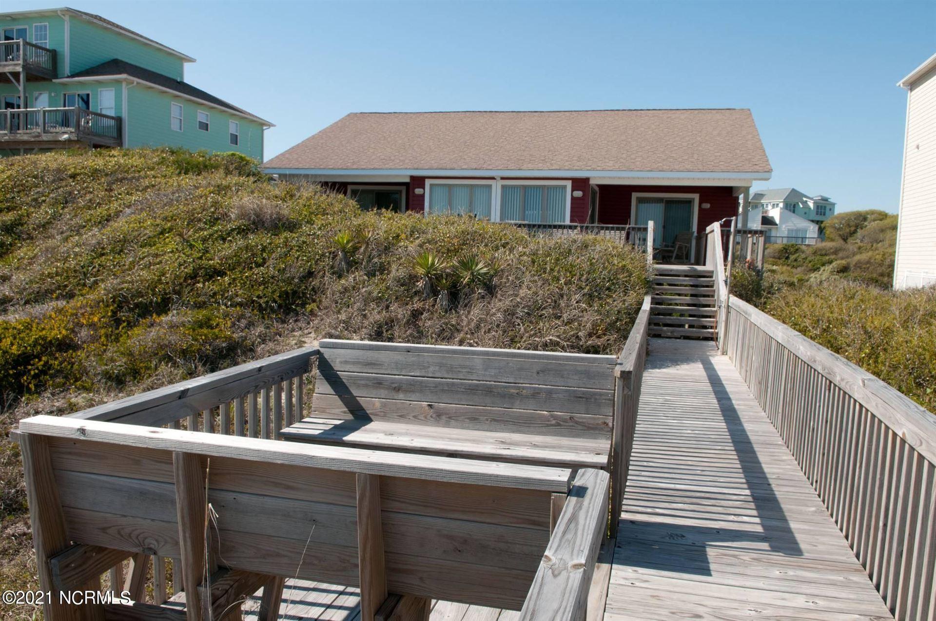 Photo of 7309 Ocean Drive, Emerald Isle, NC 28594 (MLS # 100274657)