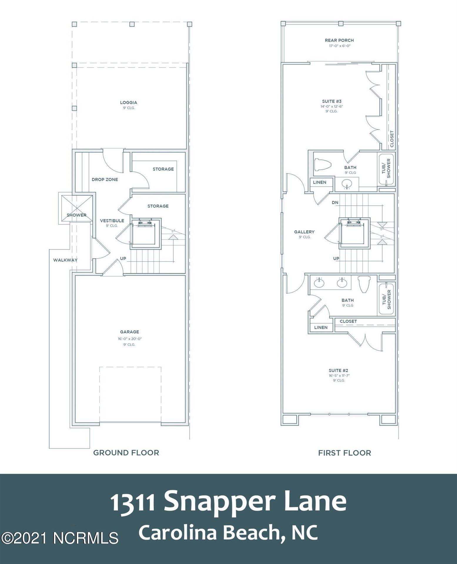 Photo of 1311 Snapper Lane #1, Carolina Beach, NC 28428 (MLS # 100294659)