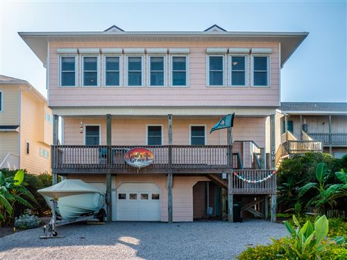 Photo of 709 Ocean Boulevard, Topsail Beach, NC 28445 (MLS # 100235665)