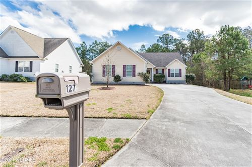 Photo of 127 Tanbark Drive, Jacksonville, NC 28546 (MLS # 100259666)