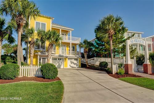 Photo of 608 Fort Fisher Boulevard N, Kure Beach, NC 28449 (MLS # 100237675)