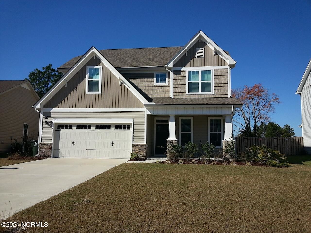 Photo for 333 Belvedere Drive, Holly Ridge, NC 28445 (MLS # 100282675)