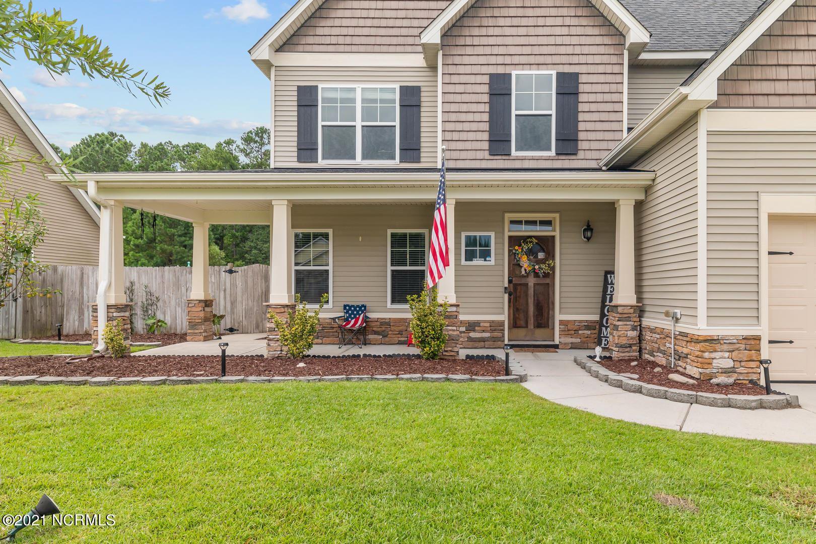 Photo of 405 Savannah Drive, Jacksonville, NC 28546 (MLS # 100287678)
