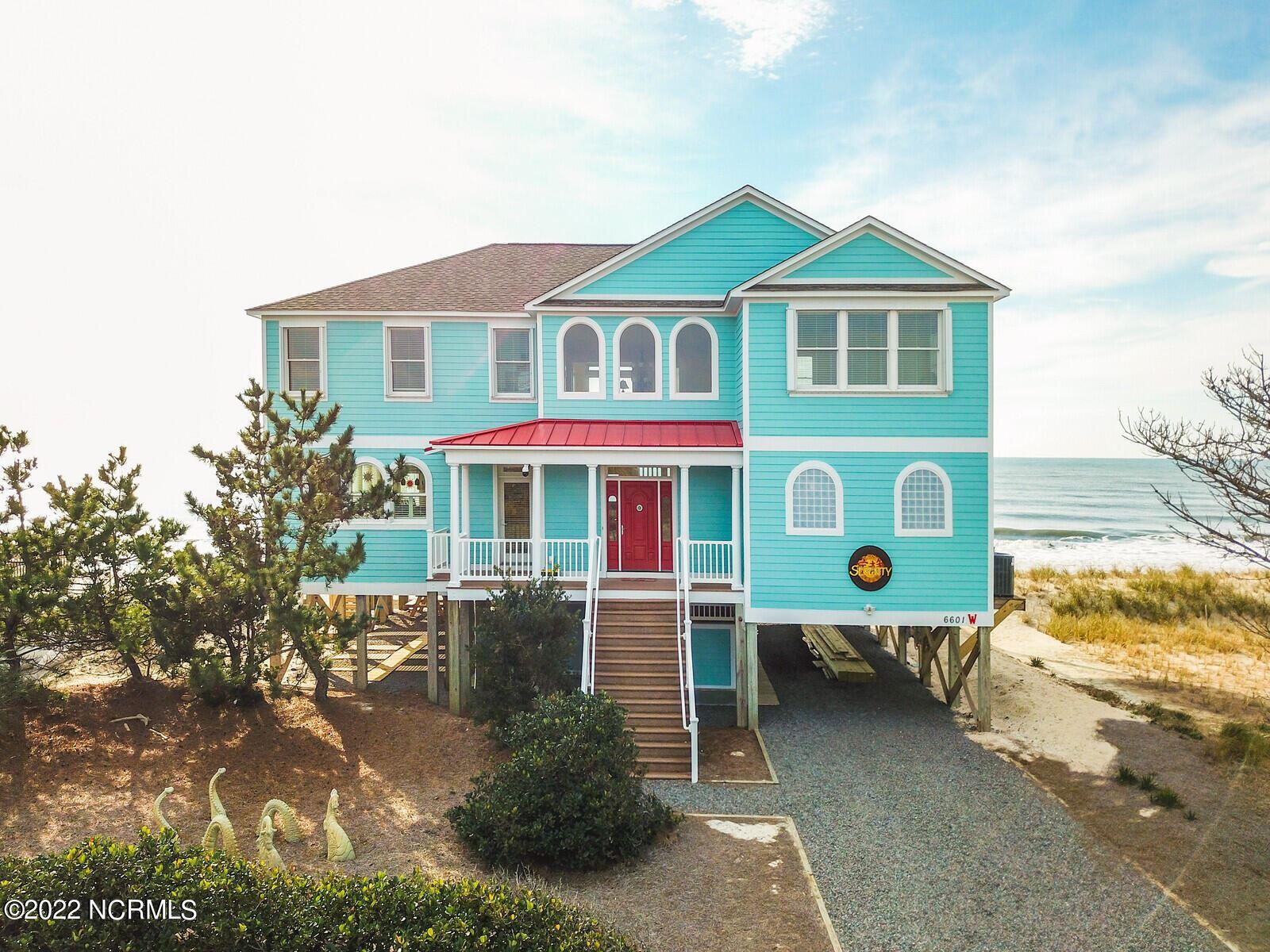 Photo of 6601 W Beach Drive, Oak Island, NC 28465 (MLS # 100268692)