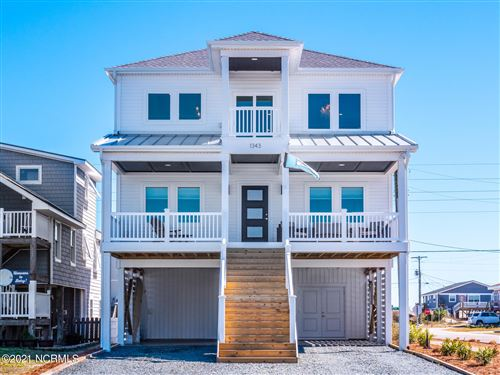 Photo of 1343 Carolina Boulevard, Topsail Beach, NC 28445 (MLS # 100258693)
