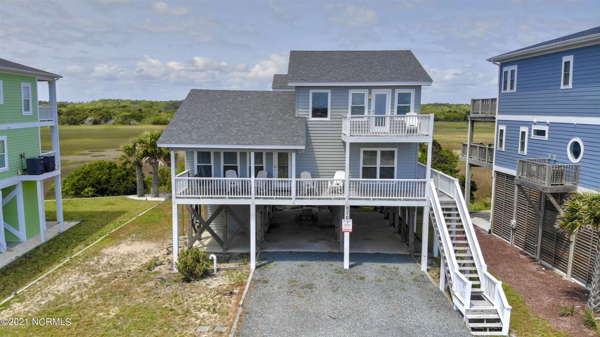 Photo of 676 Ocean Boulevard W, Holden Beach, NC 28462 (MLS # 100295704)