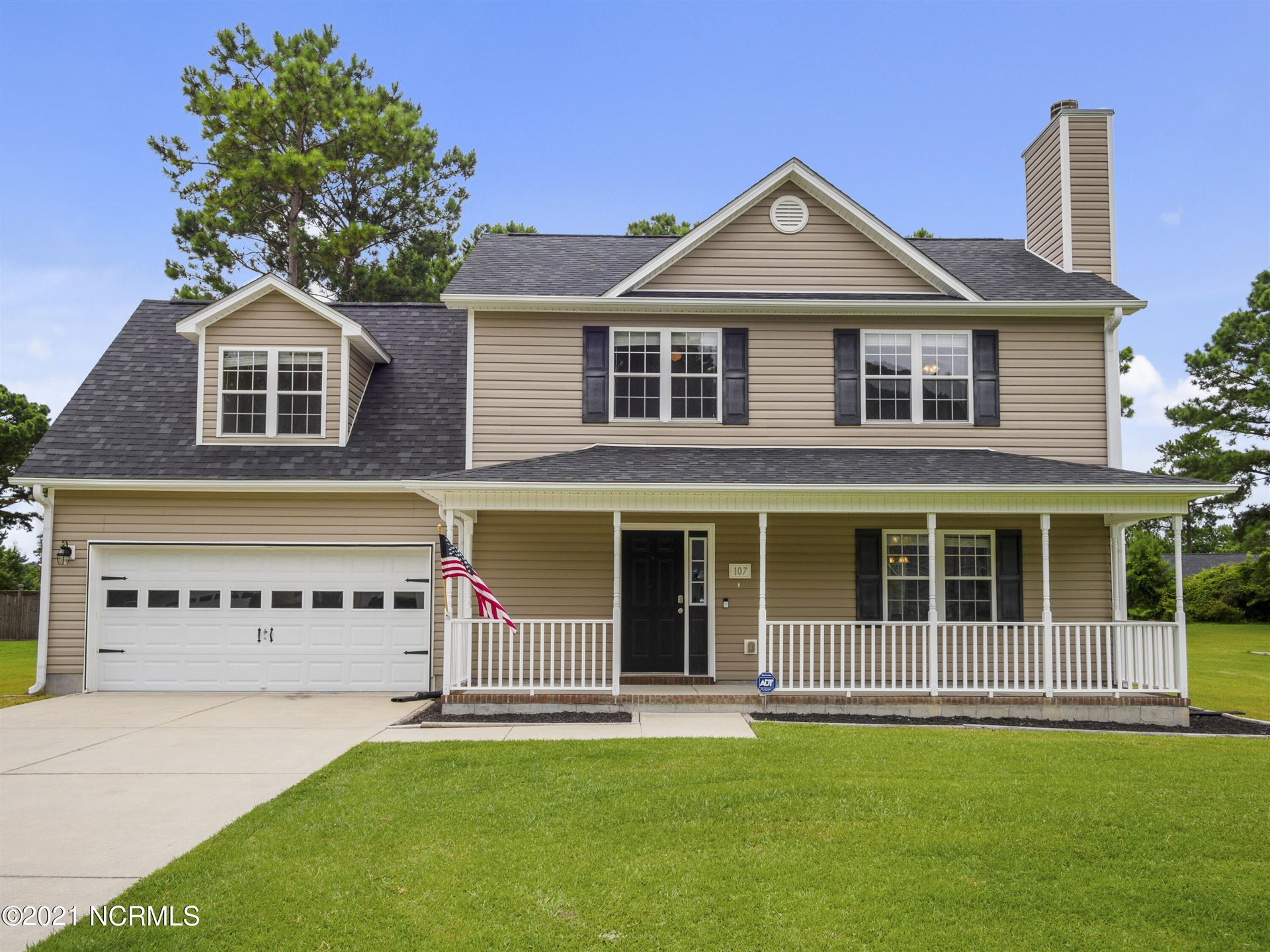 107 Knotts Court, Sneads Ferry, NC 28460 - #: 100281706