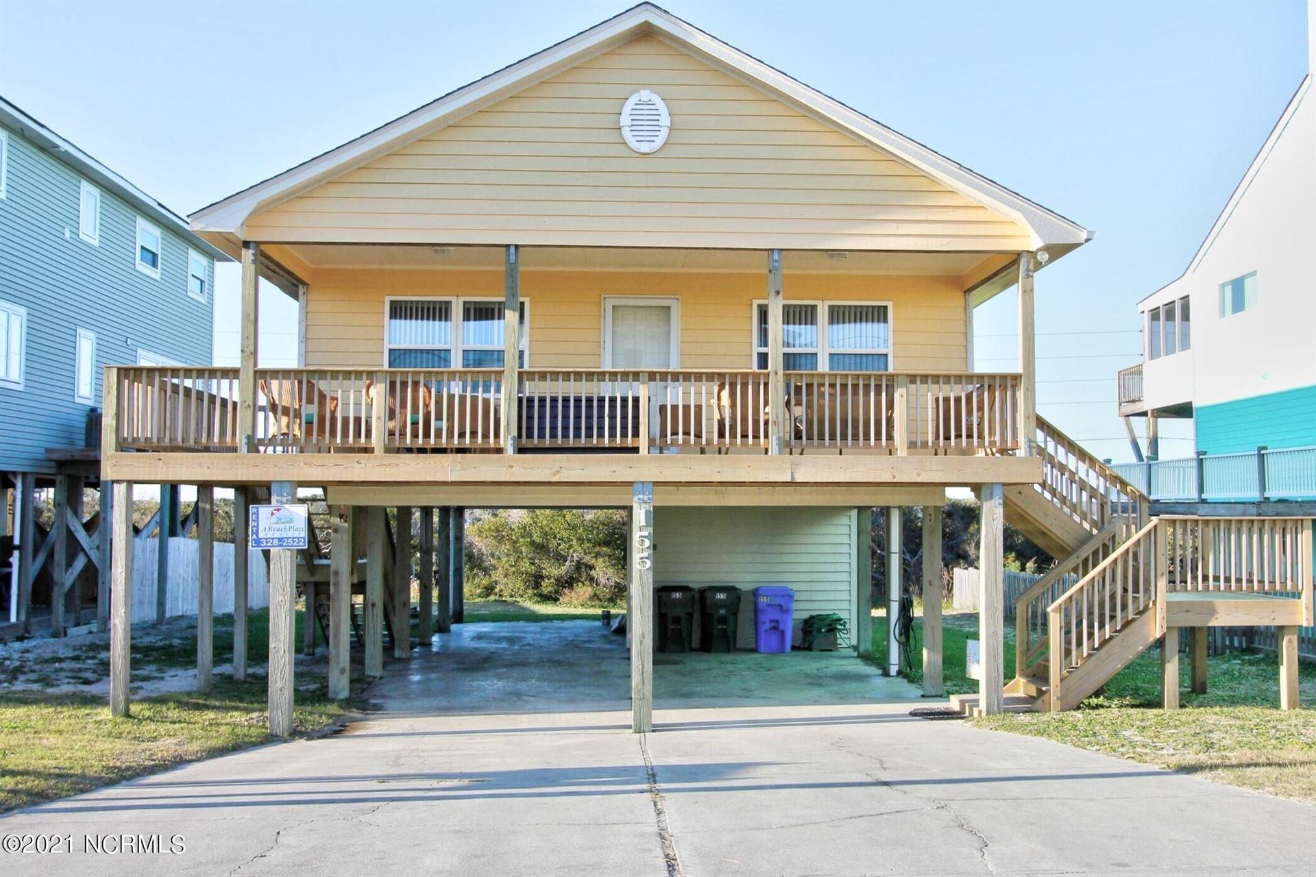 Photo for 155 Topsail Road, North Topsail Beach, NC 28460 (MLS # 100273725)